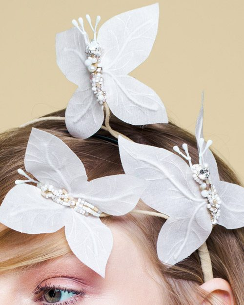 BUTTERFLY headpiece by Tami Bar-Lev