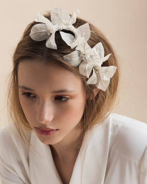 flower headpiece by Tami Bar-Lev