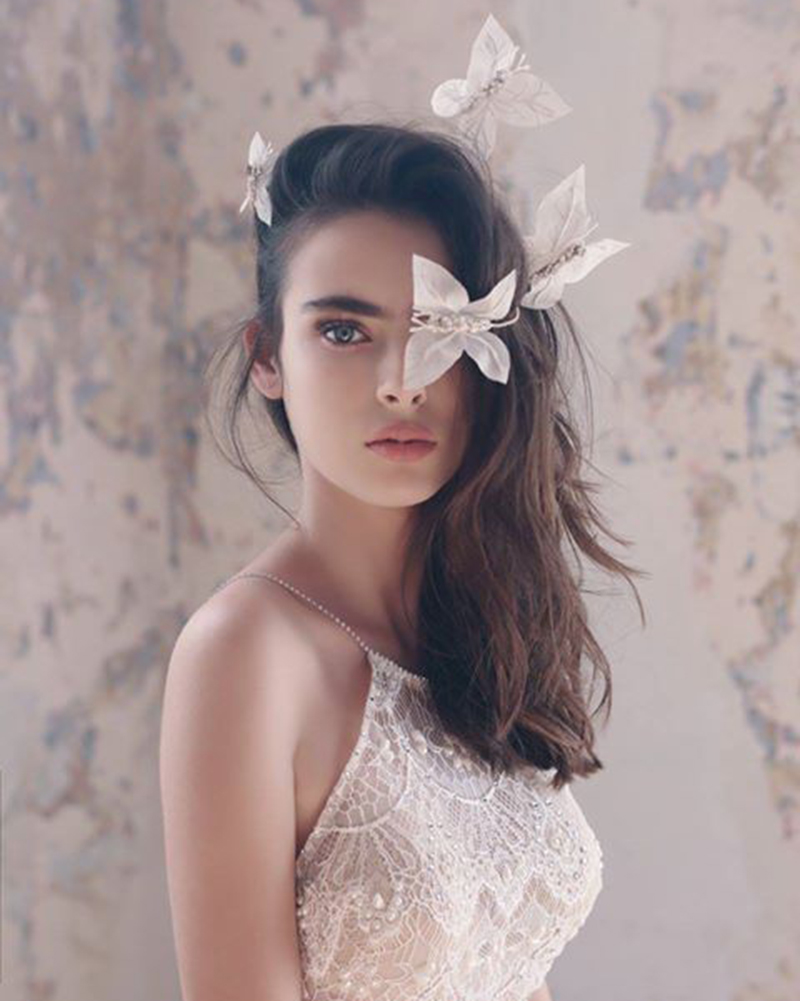 Butterflies in my stomach- Bridal Headpiece by Tami Bar-Lev