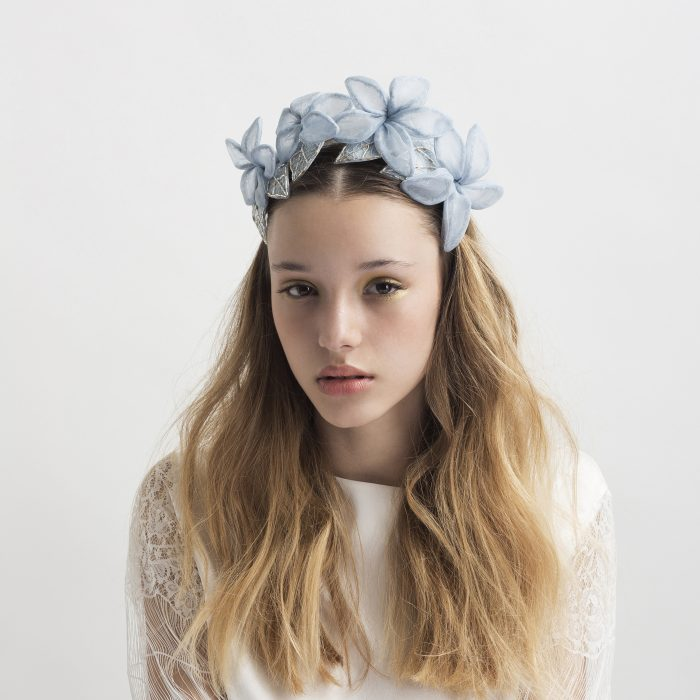'My Cold Heart' Headpiece by Tami Bar- Lev