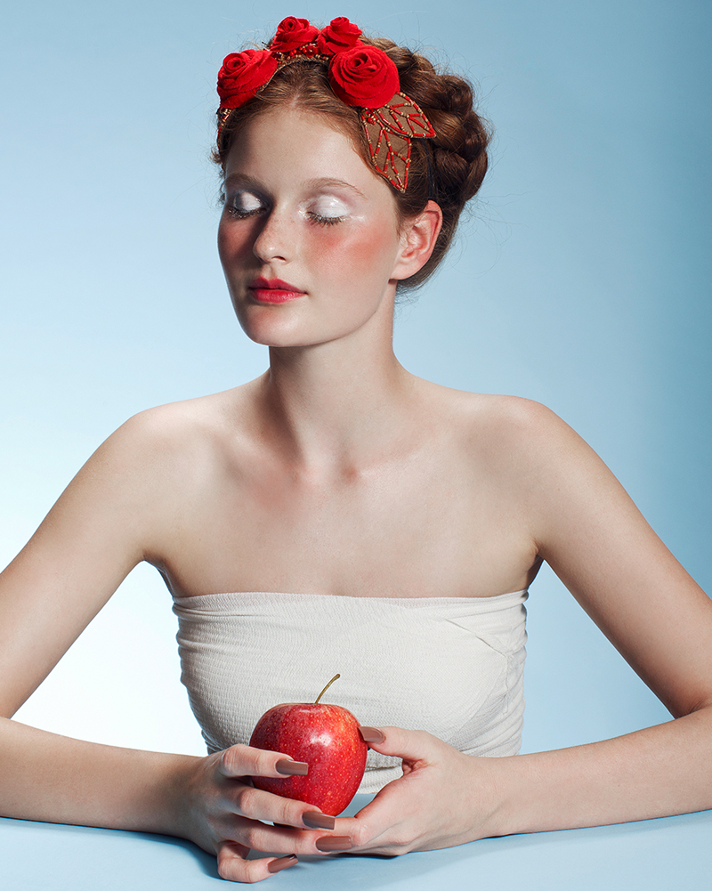 'An Apple a Day' Headpiece