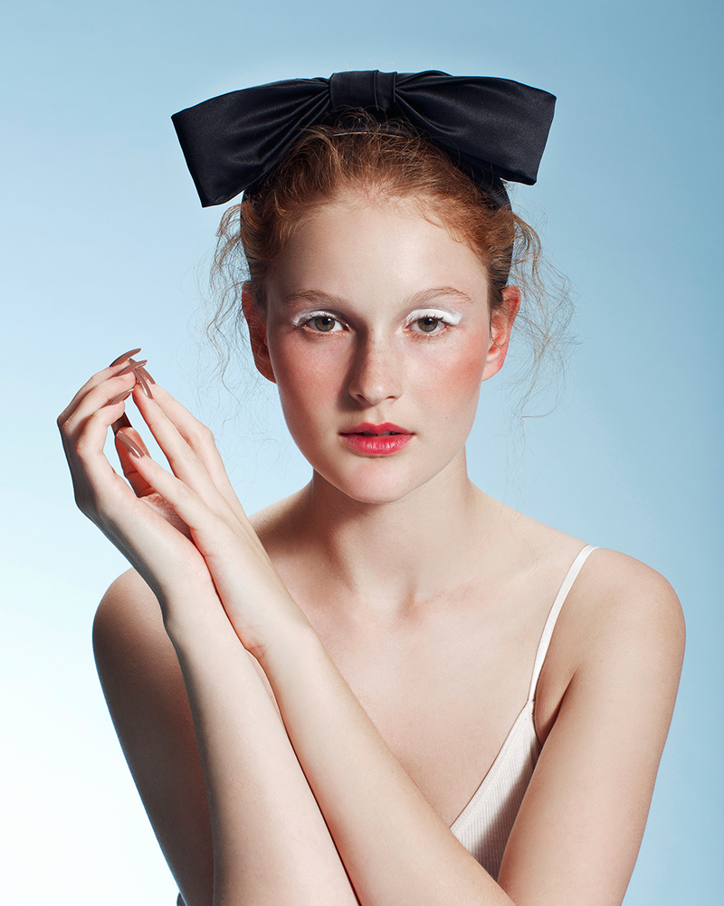 Black 'Fancy Bow' headband