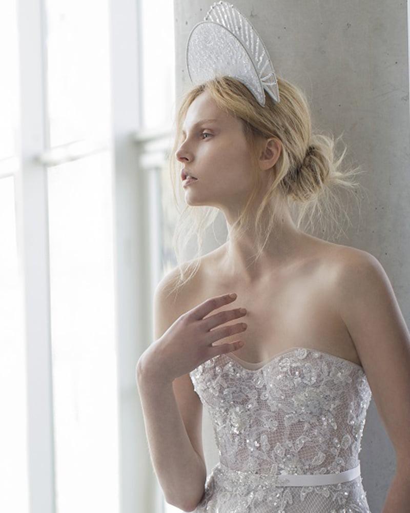 Alissa- STARDUST- Headpieces for Mira Zwillinger