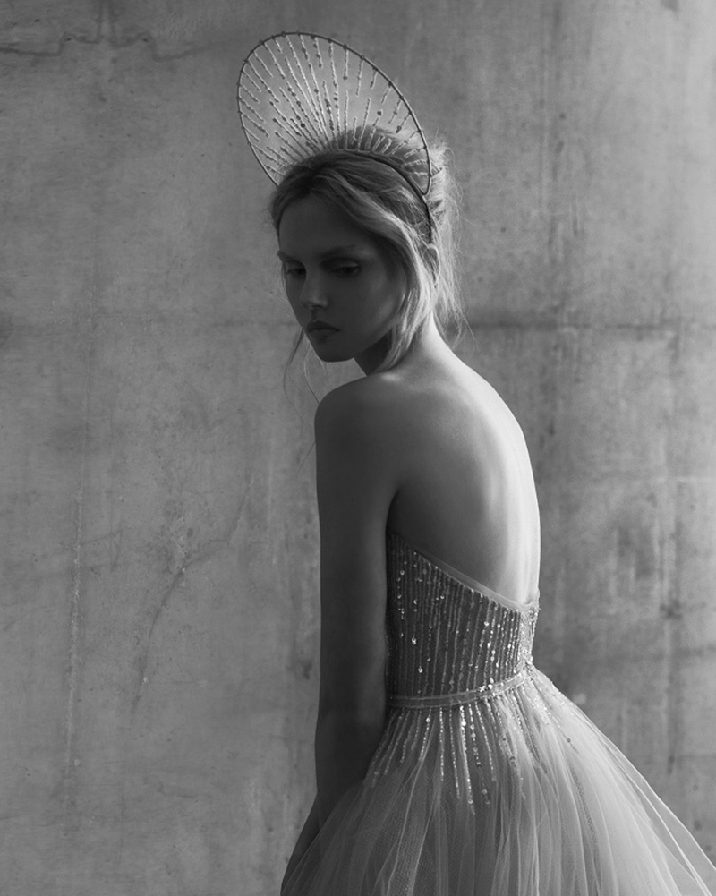Astra- STARDUST- Headpieces for Mira Zwillinger