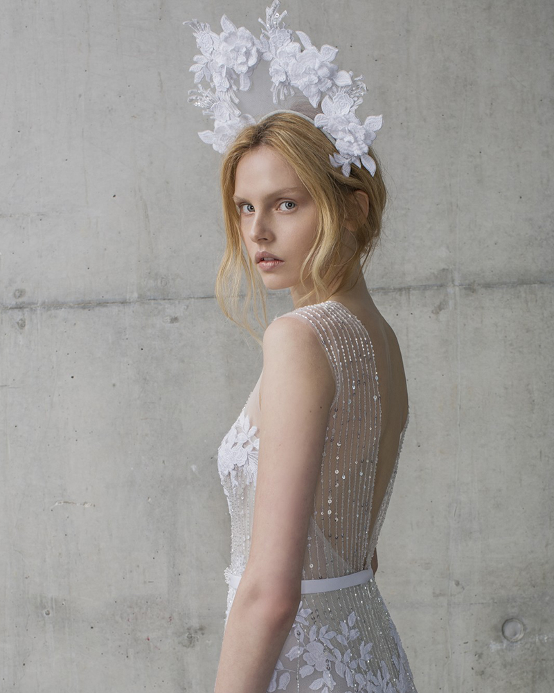 Alpha- STARDUST- Headpieces for Mira Zwillinger