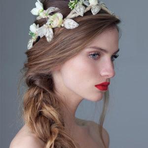 'April Bride' Headpiece by Tami Bar-Lev