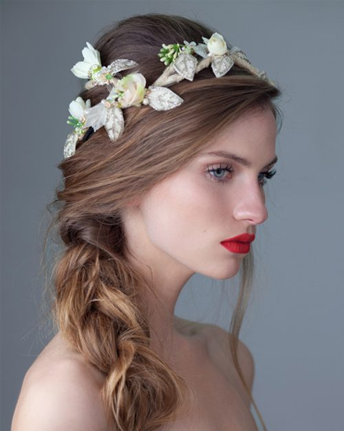 'April Bride' Headpiece by Tami Bar-Lev