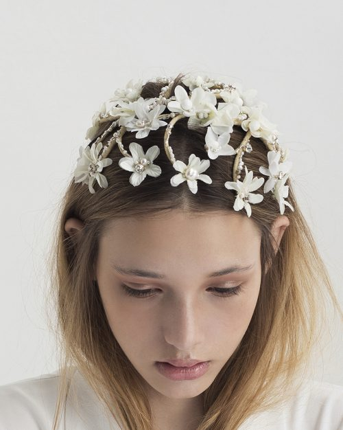 Flowers in my Hair Headpiece by Tami Bar-Lev