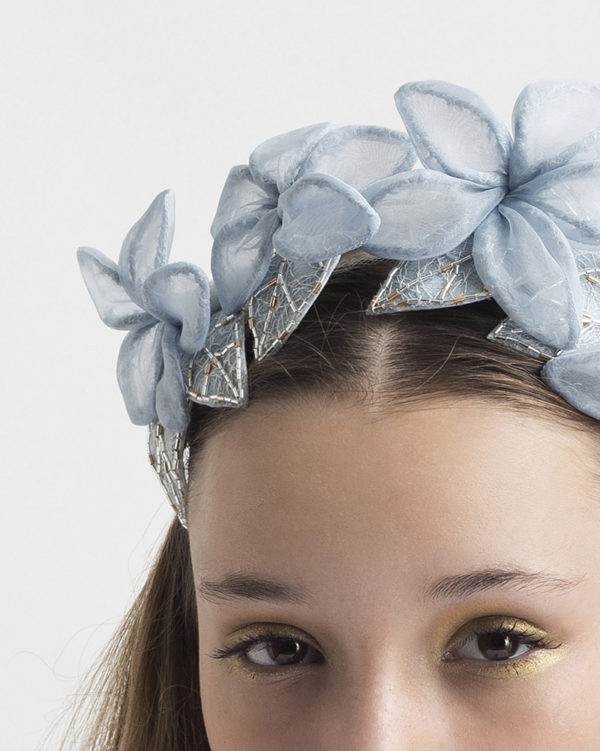 My Cold Heart- headpiece by Tami Bar- Lev