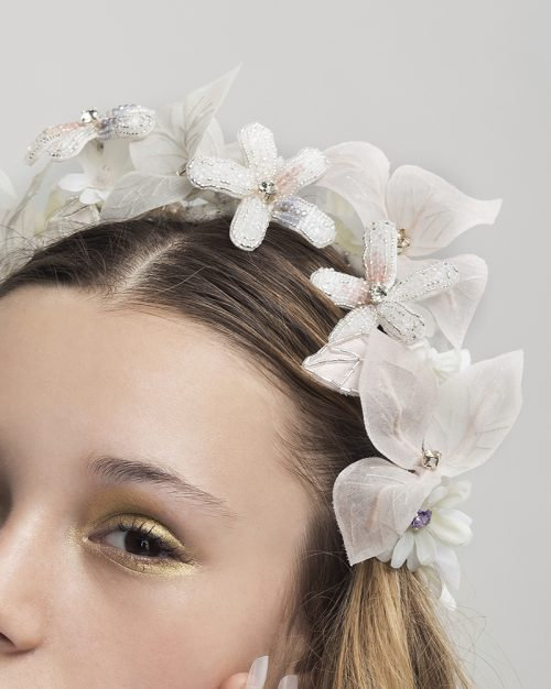 'Nothing But the Best' headpiece by Tami Bar-Lev