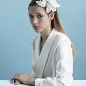 White LUXURY TIKI Flower by Tami Bar-Lev