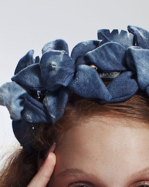 'Blue Jeans' Headpiece by T