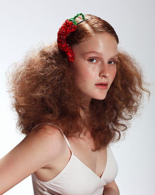 'Chili Pepper' Headband - Headpiece by Tami Bar-Lev