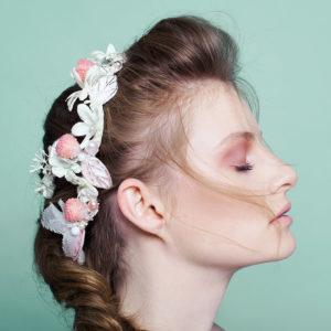 I Heart Raspberry by Tami Bar-Lev - headpiece