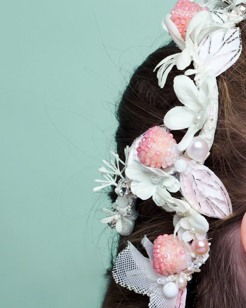 I Heart Raspberry by Tami Bar-Lev - headpiece