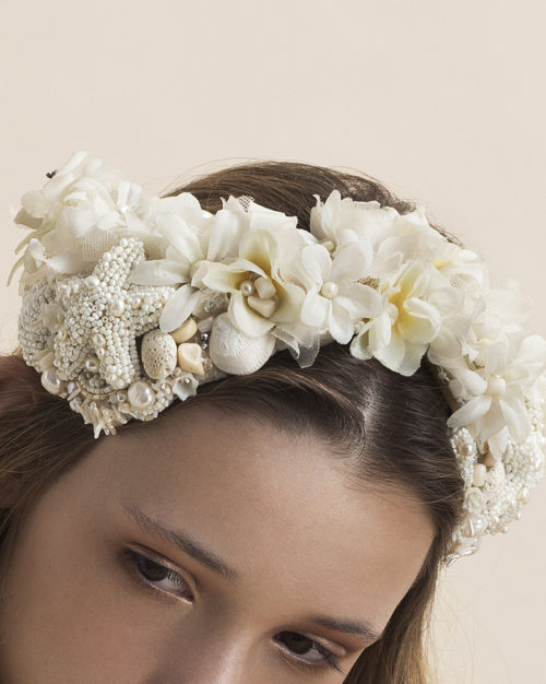 'Life's a Beach' - Bridal Headpiece by Tami Bar-Lev
