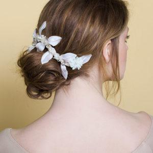 'Mini Branch' - Bridal Headpiece by Tami Bar-Lev
