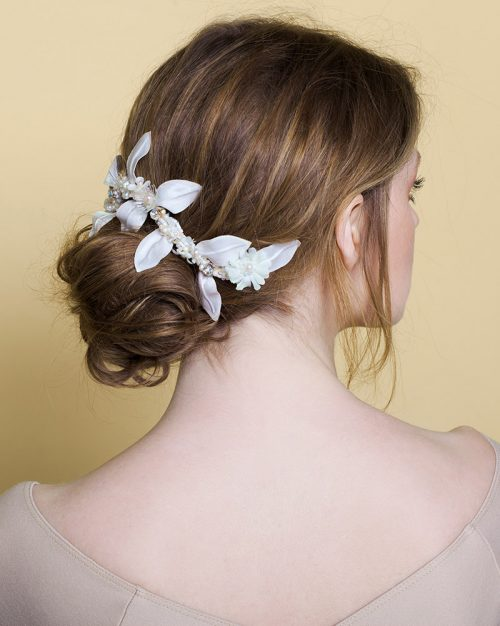 'Mini Branch' - Bridal Headpiece by Tami Bar-Lev