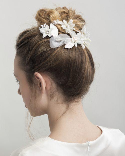 'Petite Blossom Whisper' -Bridal Headpiece by Tami Bar-Lev