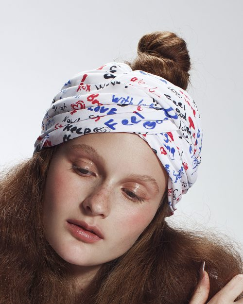 'Recover' Turban- headpiece by Tami Bar-Lev