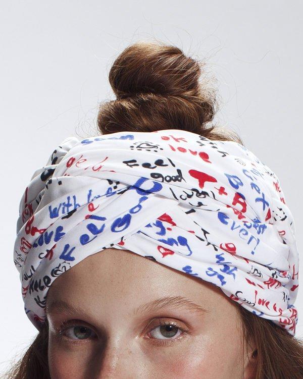 'Recover' Turban- headpiece by Tami Bar-Lev