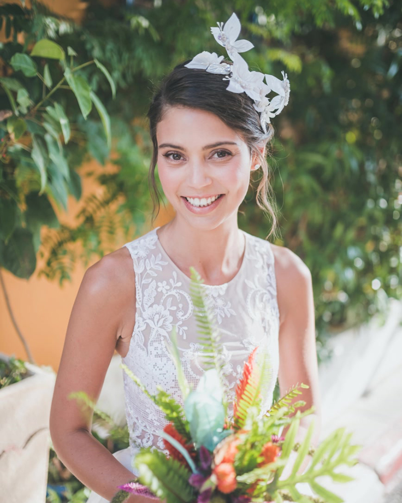 Our Brides - 'Butterfly Valley' Headpiece by Tami Bar-Lev