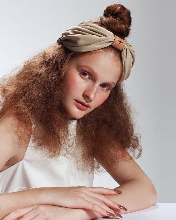 'Cure' TurBand - turban Headpiece by Tami Bar-Lev