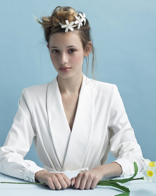 petite crystal twinkle -Bridal Headpiece by Tami Bar-Lev