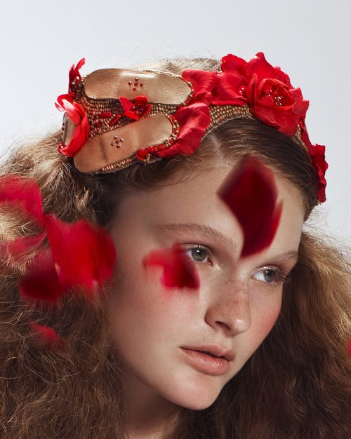 'Rose Requiem' Tiara - Headband - Headpiece by Tami Bar-Lev