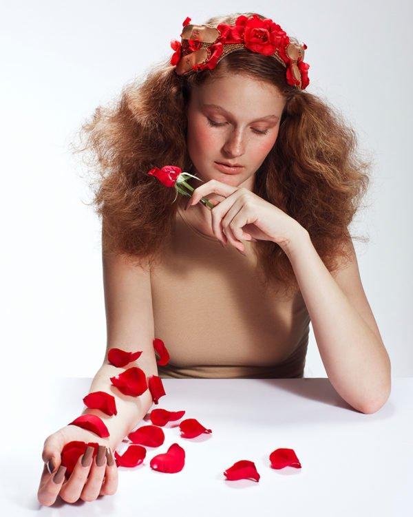 'Rose Requiem' Tiara - Headband - Headpiece by Tami Bar-Lev