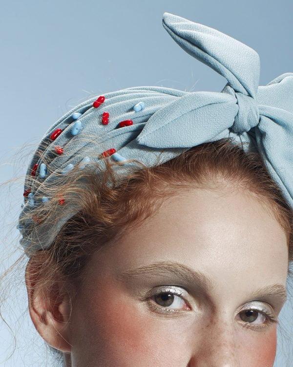 'Chill Pill' TurBand - Turban Headpiece by Tami Bar-Lev