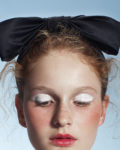 Black 'Fancy Bow'- couture headband - Headpiece by Tami Bar-Lev