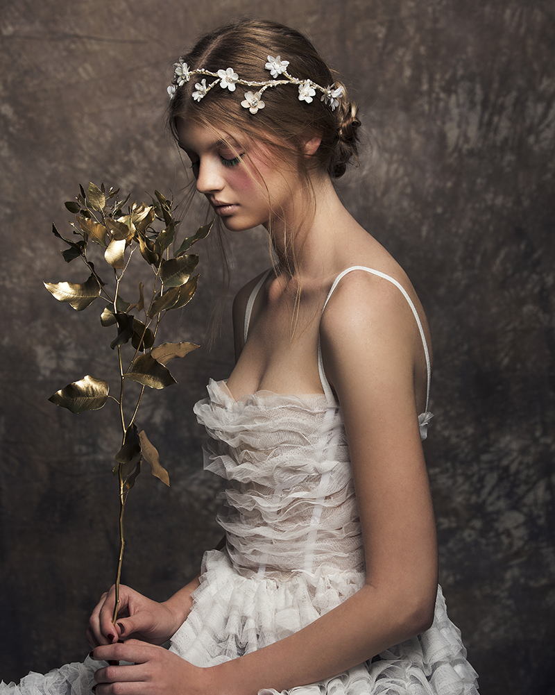 'Teepee' Flower Crown by Tami Bar-Lev