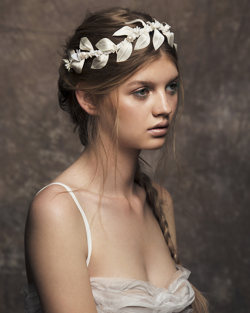 'Dakota' - Pearl Headpiece - bridal headpiece by Tami Bar-lev