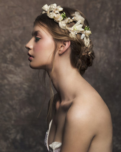 'April Bride' Tiara bridal headpiece by Tami Bar-lev