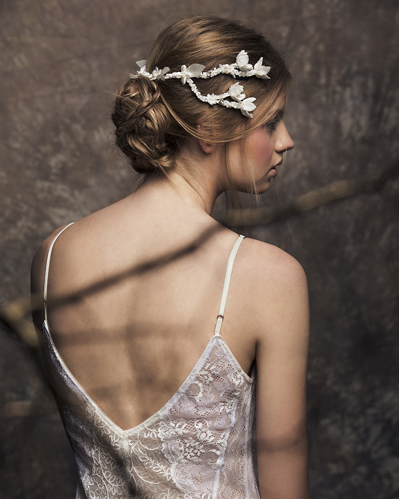 'Willow' Back Headpiece bridal headpiece by Tami Bar-lev