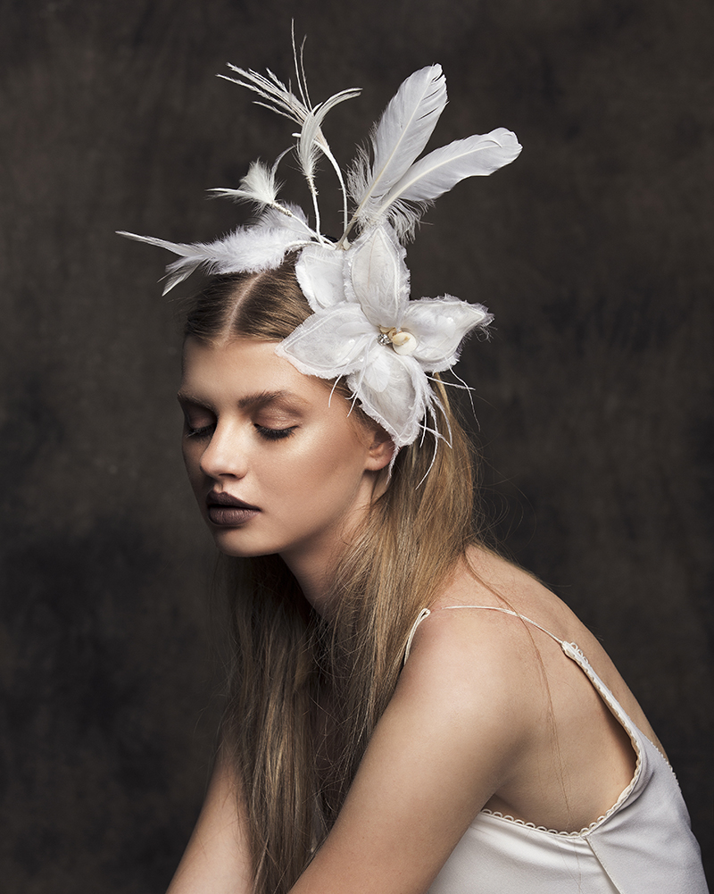 'Heritage' bridal headpiece by Tami Bar-lev