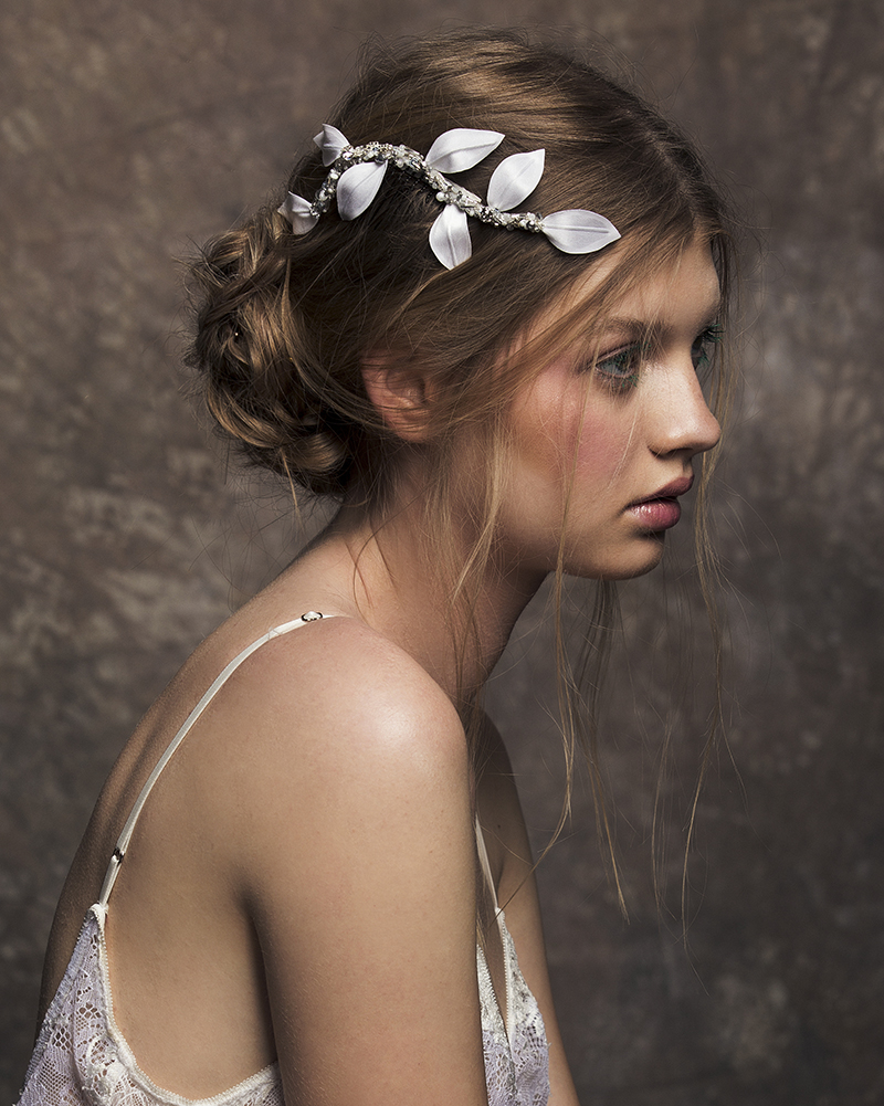 'Petit Branch' Silver bridal headpiece by Tami Bar-lev