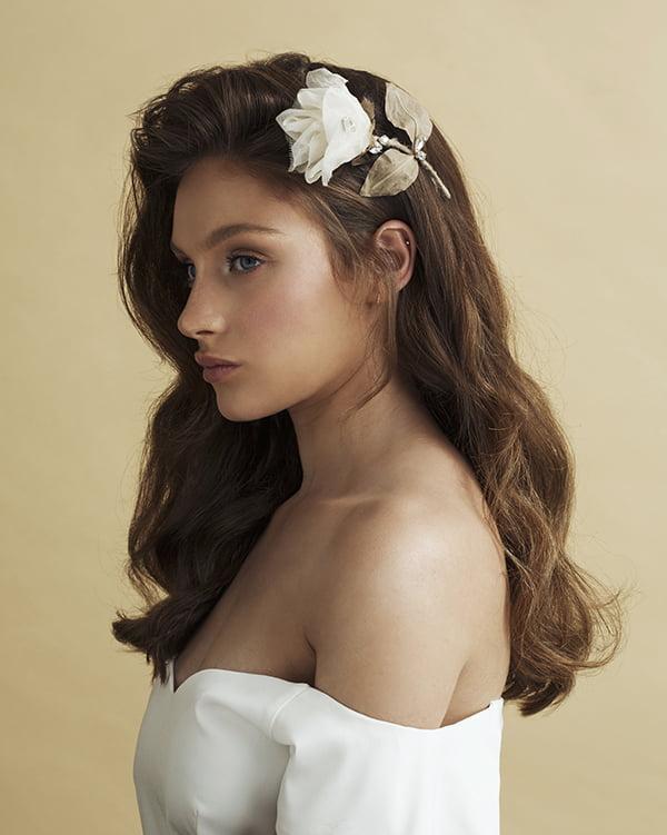 'Petit Rosa'- Bridal Headpiece by Tami Bar- Lev