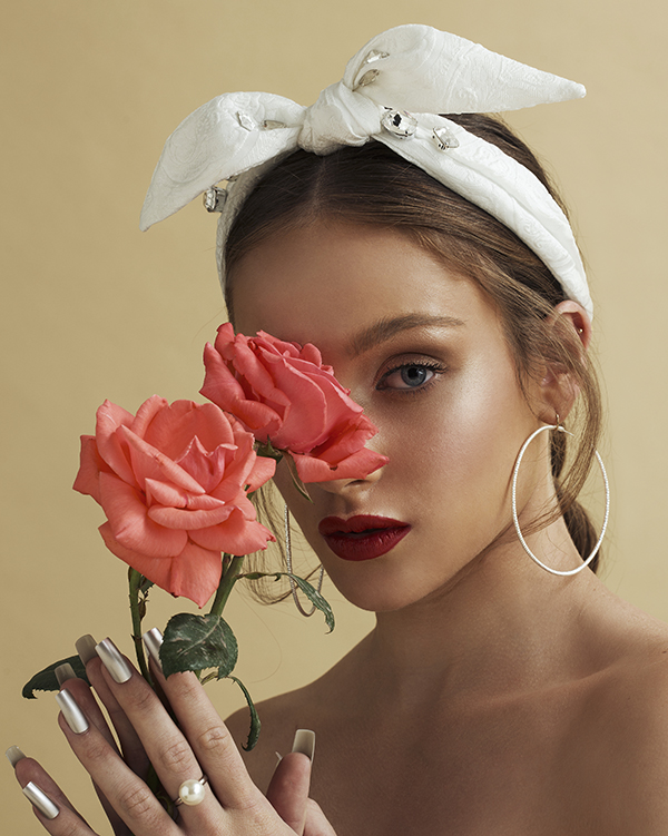 'Carmel' - Bridal Headpiece by Tami Bar- Lev