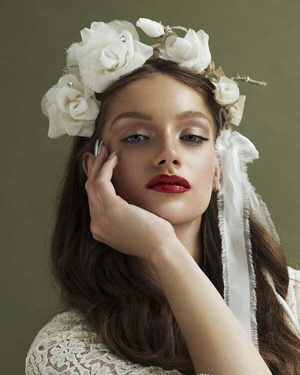 'Big Dreams' Rose Crown Bridal Headpiece by Tami Bar- Lev Bridal Headpiece by Tami Bar- Lev