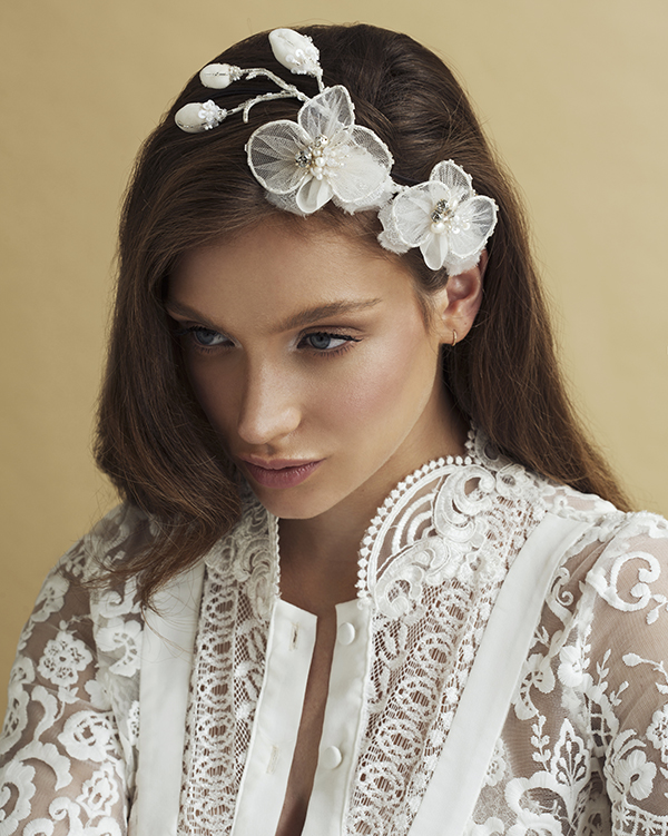 'Orchids forever' Headpiece Bridal Headpiece by Tami Bar- Lev