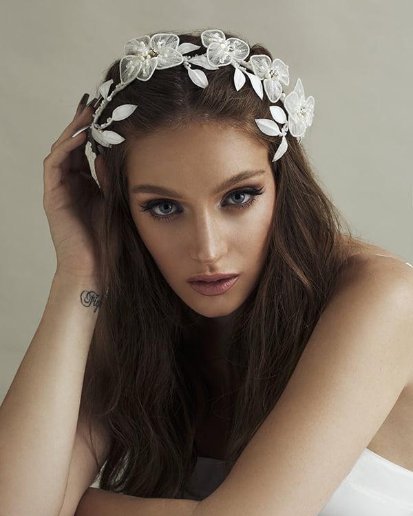 'Eternally' Headpiece -' Bridal Headpiece by Tami Bar- Lev