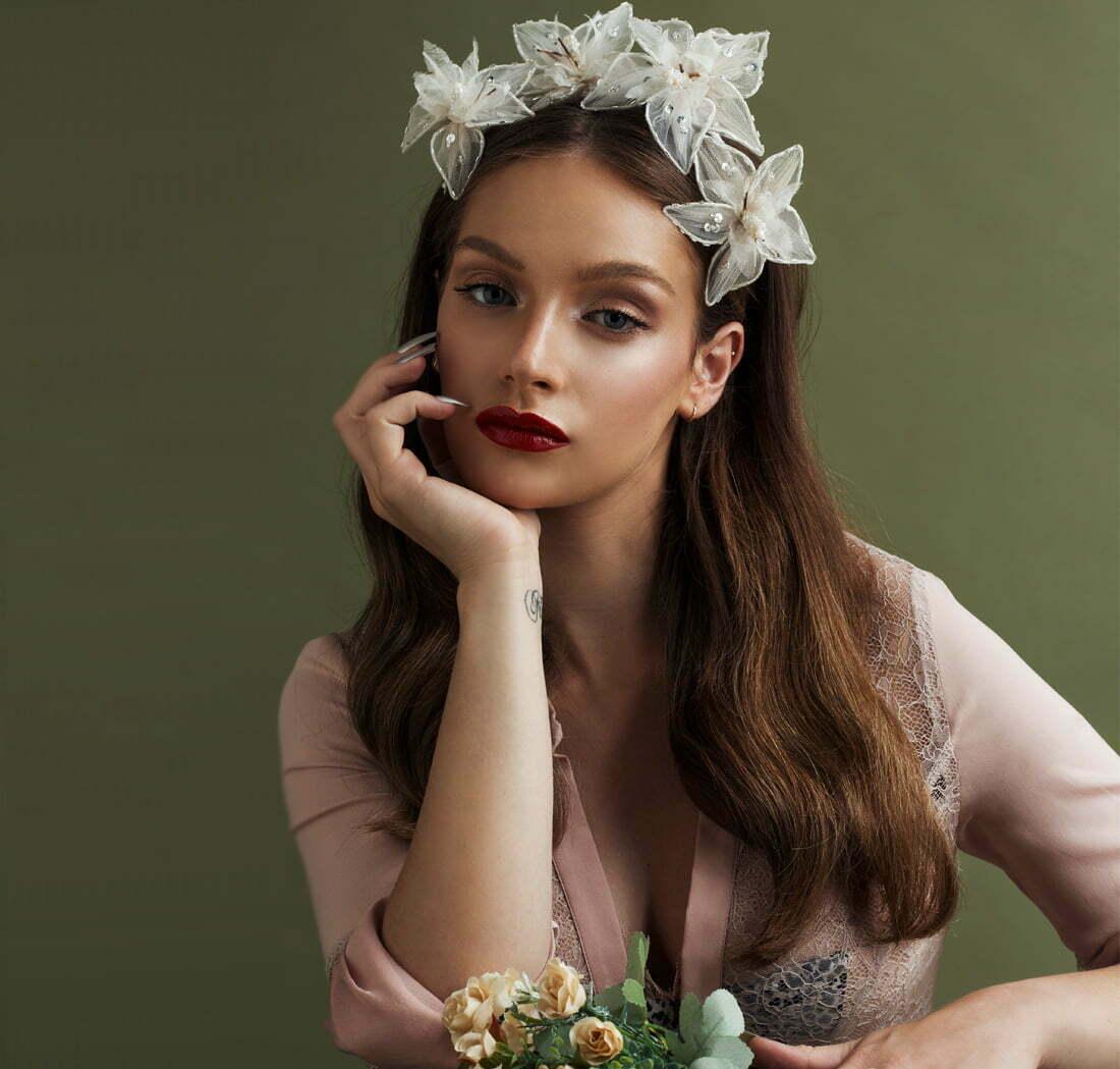 'Starlit' Headpiece Bridal Headpiece by Tami Bar- Lev