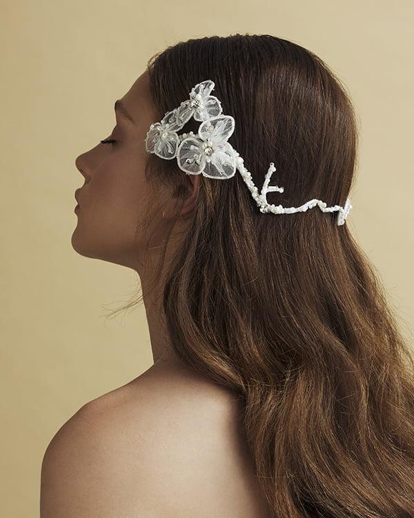 'The Bestest' Bridal Headpiece by Tami Bar- Lev