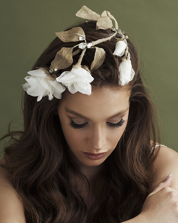 'Rosa' Headpiece Bridal Headpiece by Tami Bar- Lev