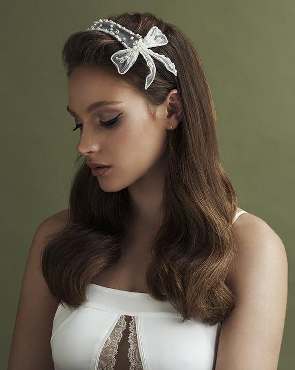 'Just Us' Headband Bridal Headpiece by Tami Bar- Lev