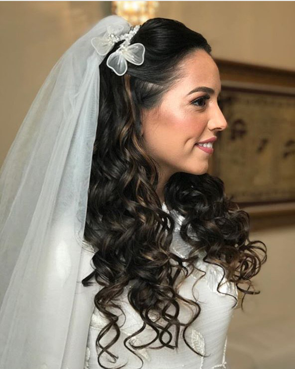 'Definitely Maybe' comb Bridal Headpiece by Tami Bar- Lev