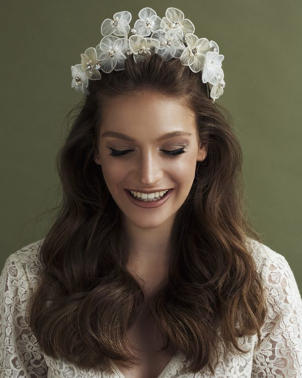 'Beauty Queen Style' Bridal Headpiece by Tami Bar- Lev