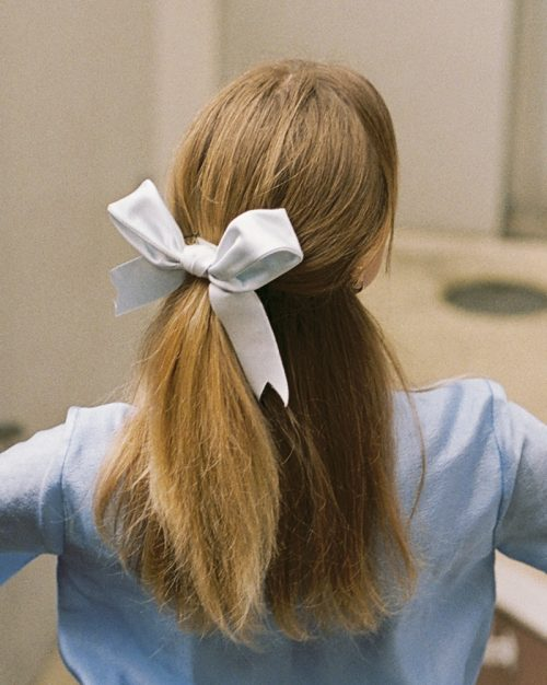 Maxi powder blue ribbon 2
